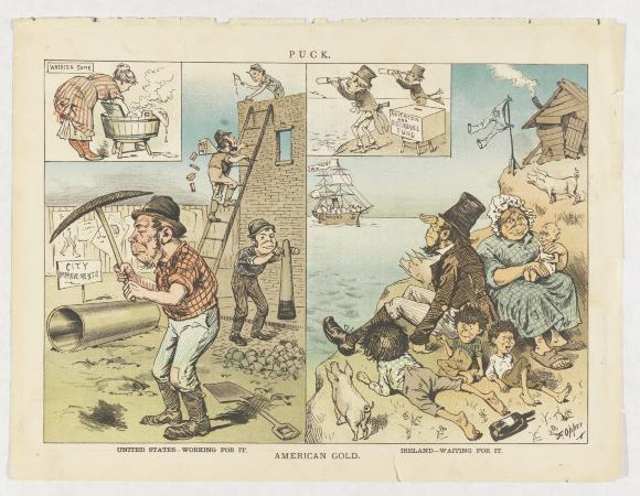racial discrimination of immigrants in the 19th century america Irish immigrant families in mid-late 19th century there is a section on immigration to america during the 19th 7 to become aware of discrimination from.