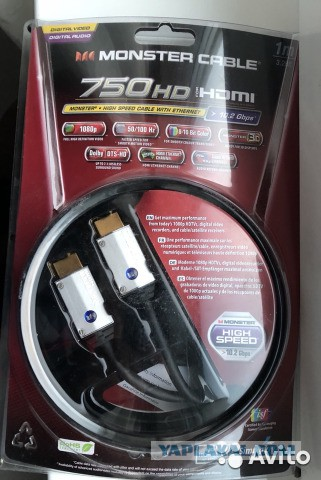 оригинальный HDMI кабель MonsterCable