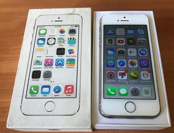 Продаётся iPhone 5S 16Gb Rose Gold