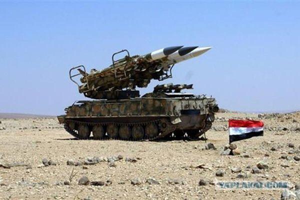 Россия помогла Сирии уничтожить израильские ракеты, летевшие на Дамаск