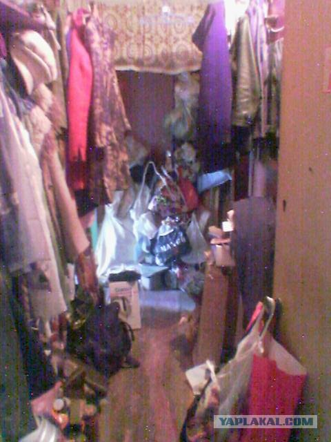 Квартира как свалка мусора и хлама