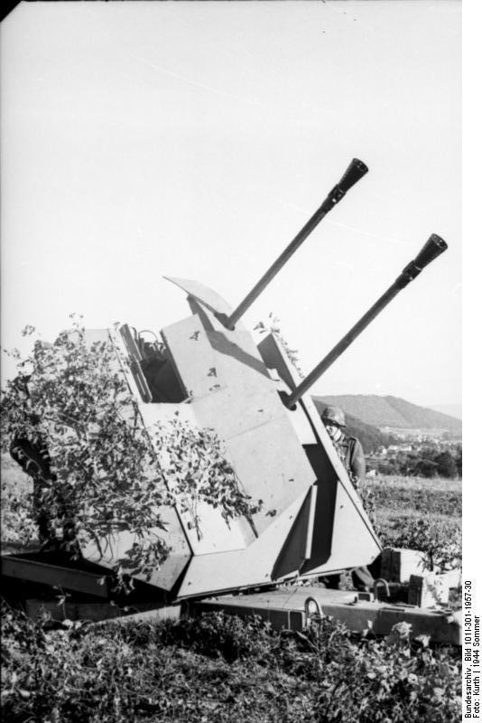 Зенитки против танков. Часть 2-я