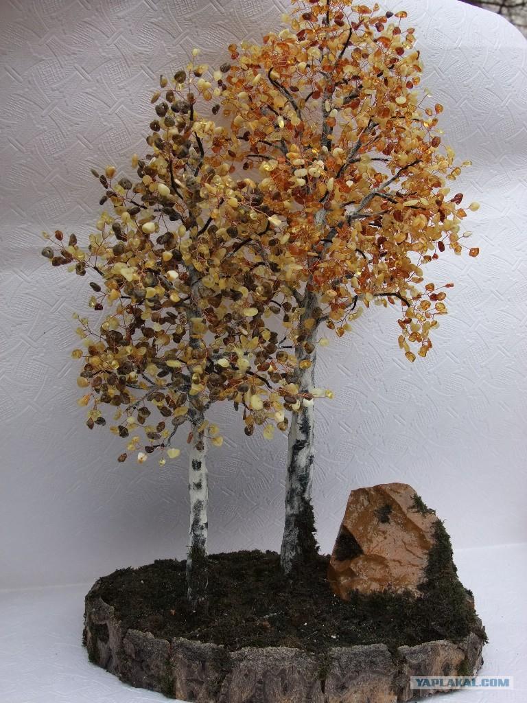 Деревьев из камней своими руками