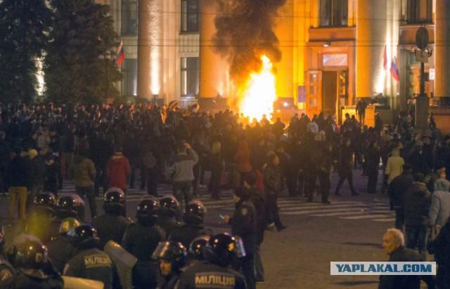 в Харькове началась «антитеррористическая операция