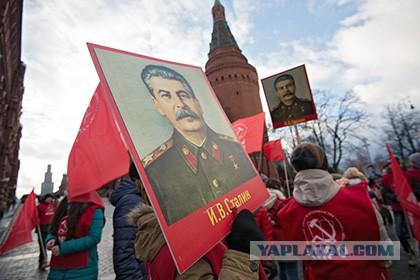 Более половины россиян поддержали Сталина