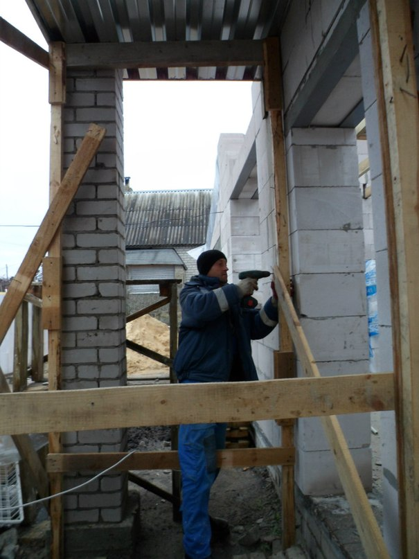 Опыт строительства своими руками