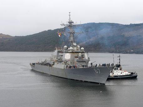 К берегам Крыма идет ракетный эсминец США