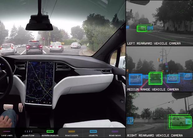Tesla продемонстрировала работу полностью автономного автомобиля под музыку из «Шоу Бенни Хилла»