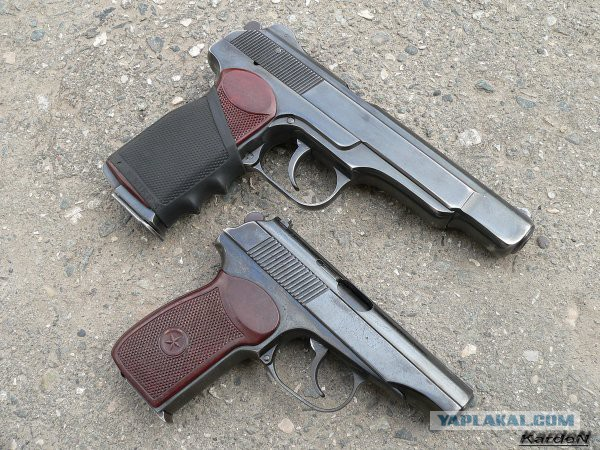 Пистолет Ярыгина клинит - спецназовец в шоке