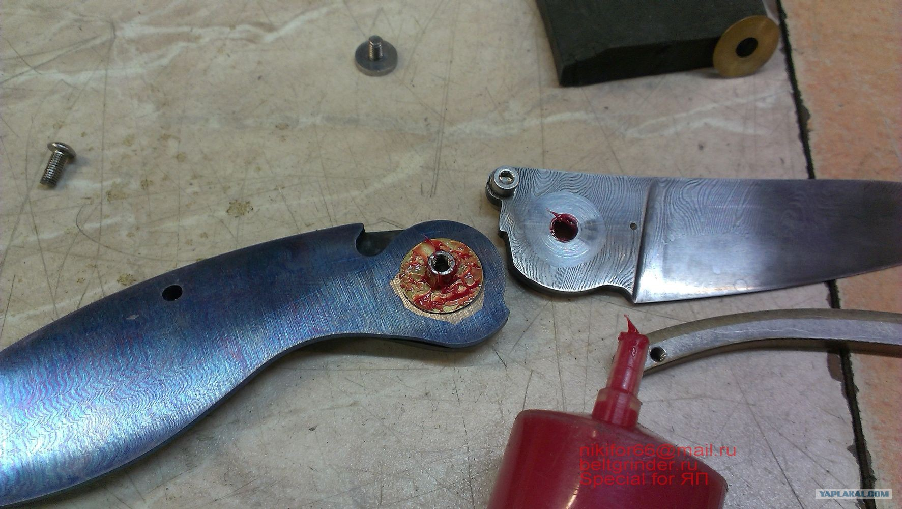 Складной нож своими руками из бумаги