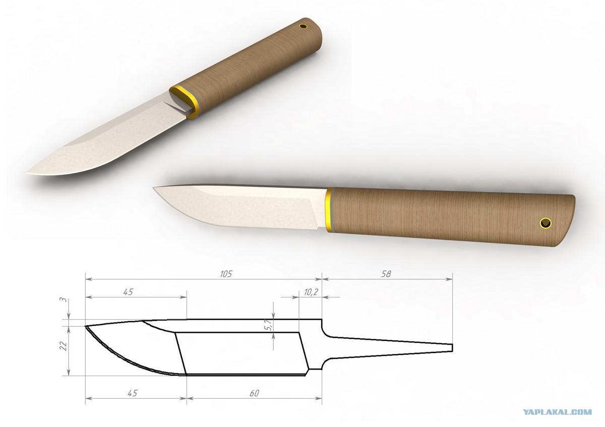 Изготовление ножей своими руками из напильника