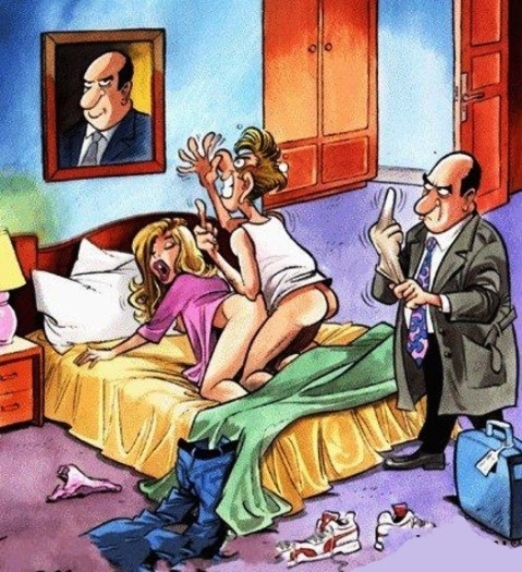 Когда внезапно вернулся муж