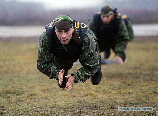 Учения спецназа
