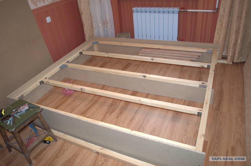Деревянные кровати своими руками: схемы, чертежи. Как сделать
