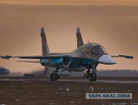 Снайпер из поднебесья: как Су-34 стал грозой террористов в Сирии