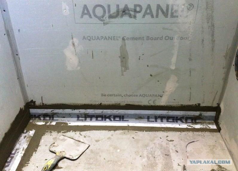 Стена гидроизоляция прижимная