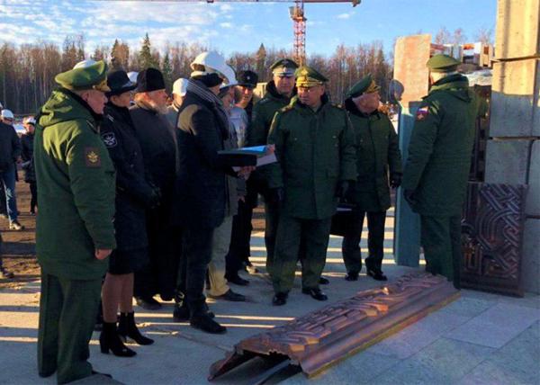 Ветеран подал жалобу в Конституционный суд из-за строительства Главного храма ВС РФ