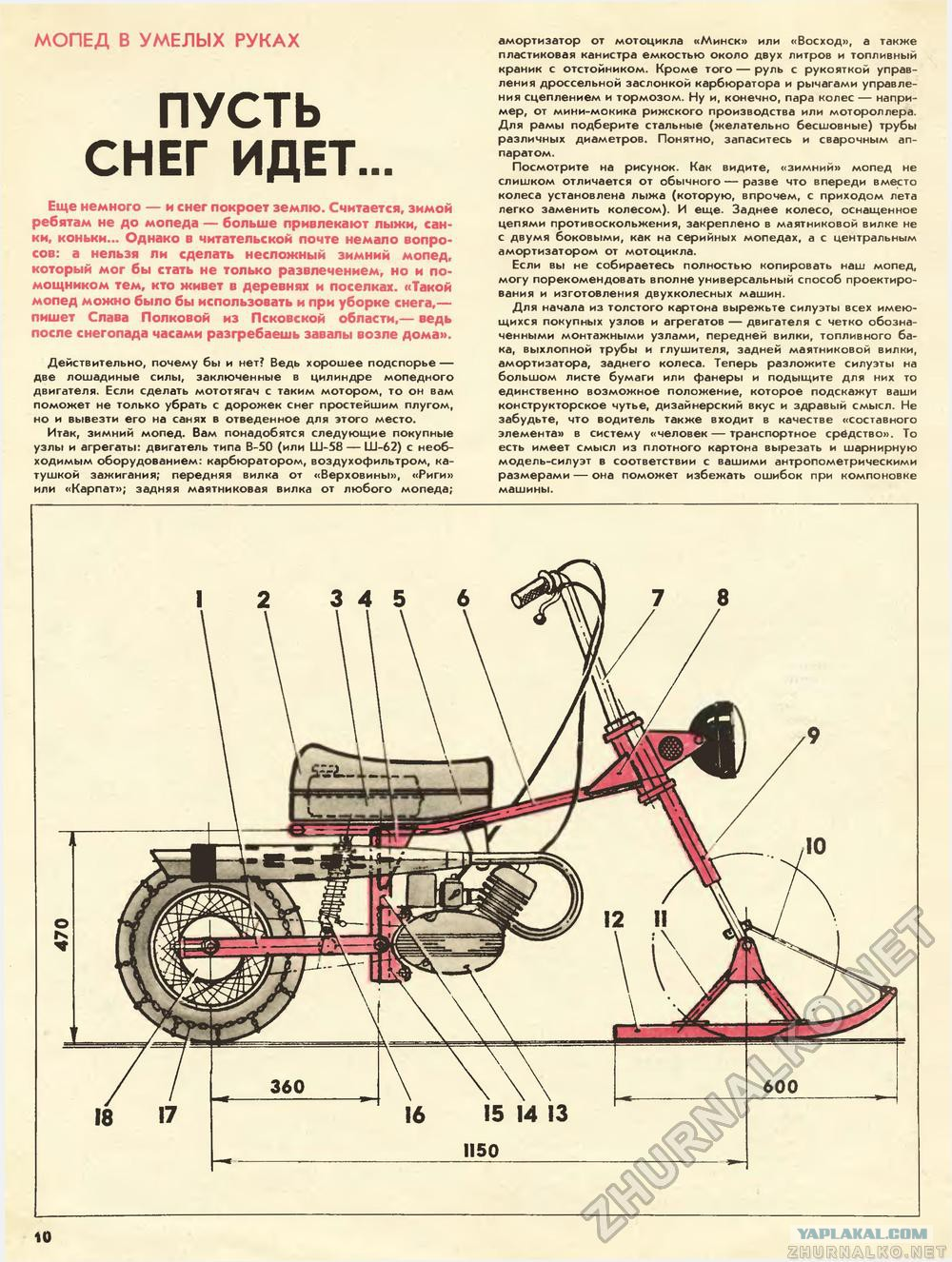 Мопед с двигателем от бензопилы своими руками чертежи 73