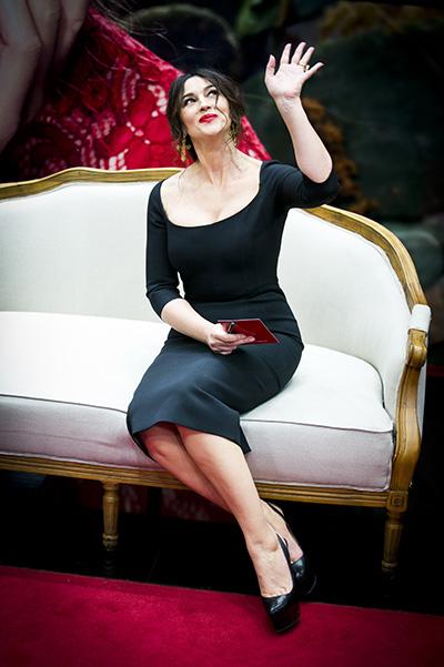 12 марта Моника Беллуччи (Monica Bellucci) посетила Москву