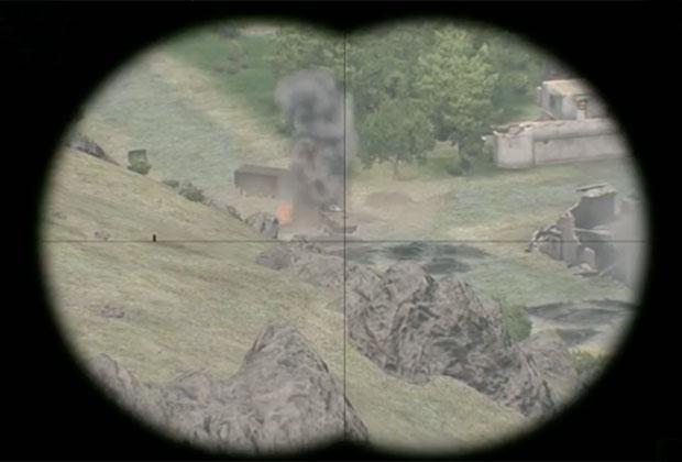 Первый канал выдал кадры из компьютерной игры за военное досье из Сирии