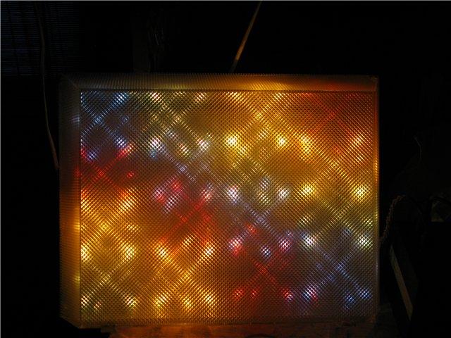 Экран для цветомузыки своими руками