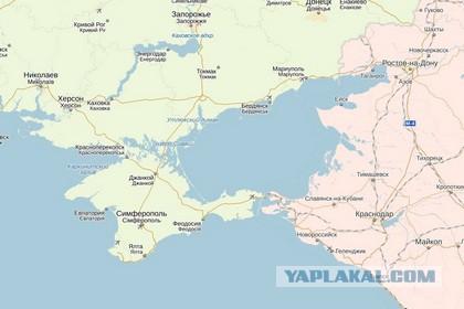 «Яндекс.Карты» отказались выбирать страну для Крым