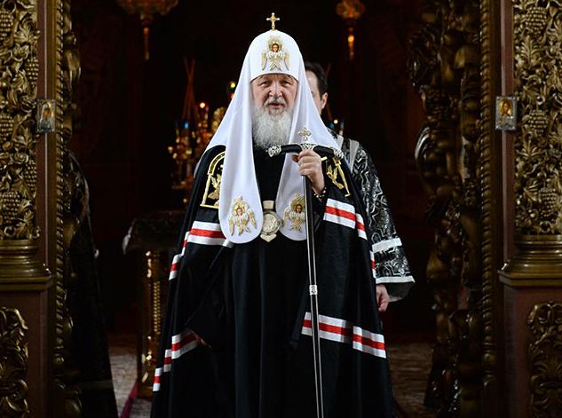 Патриарх Кирилл об обогащении
