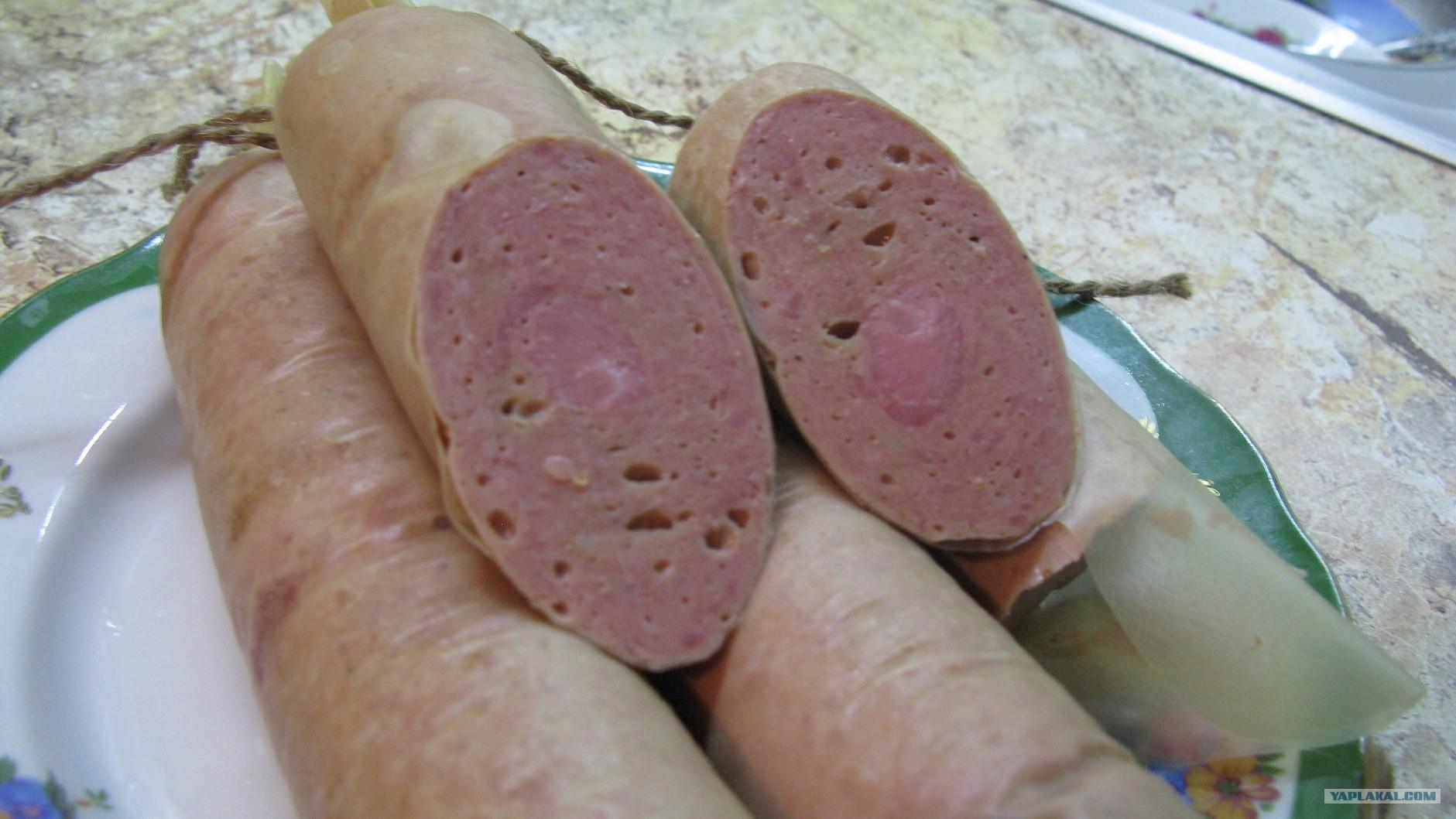 Соевая колбаса своими руками 4
