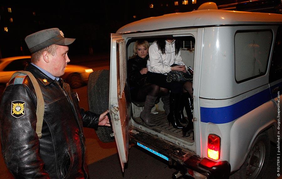 Закончен очередной рейд красноярской милиции по ночным улицам города.