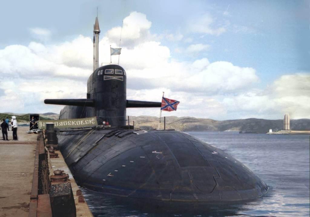 Атомные подводные лодки вмф россии