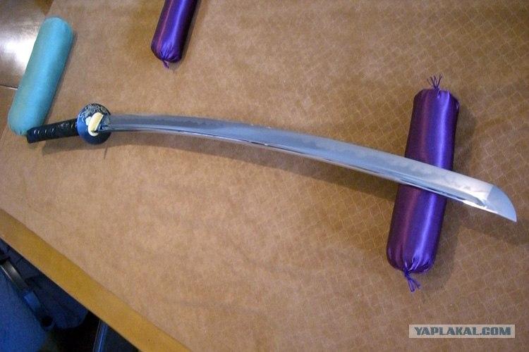 """Самурайский меч """" Лента приколов Коляна"""