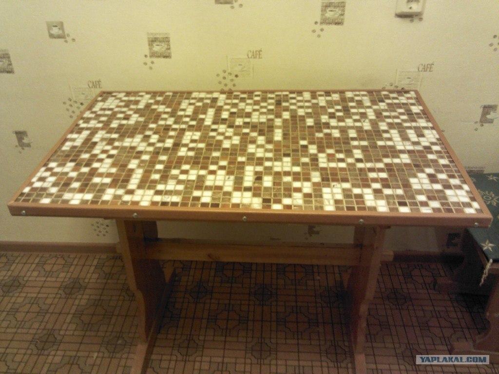 Переделка полированного стола своими руками