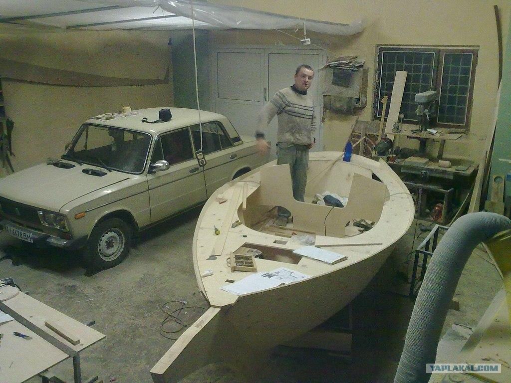 Построит катер своими руками
