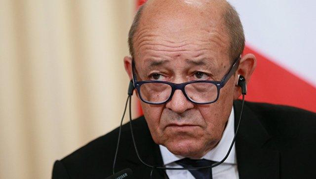 """Глава МИД Франции заявил, что Россия """"присвоила"""" победу над ИГ*"""
