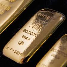 Вывоз золота из России ускорился