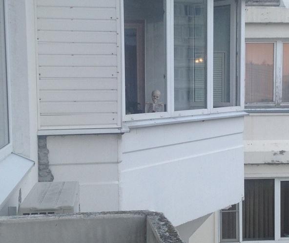 Грустный сосед