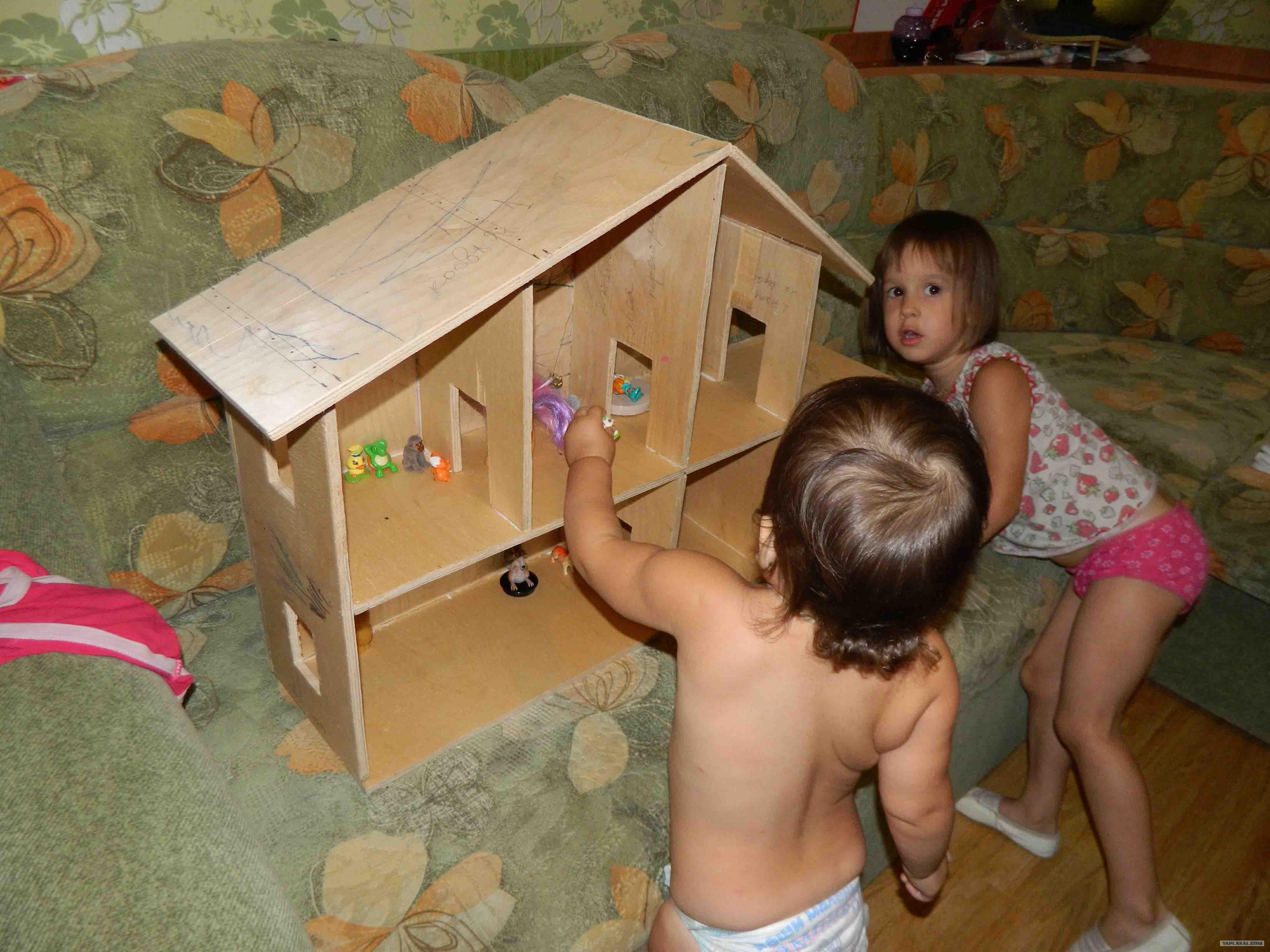 Домик для детей своими руками. Фото. Складной домик для детей 78