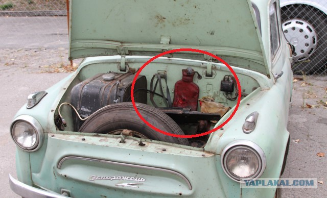"""Редчайший горбатый """"Запорожец"""" ЗАЗ-965: номер кузова 1373"""