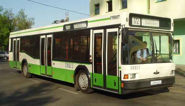 МАЗ 103 вышли на столичные маршруты в конце 2003 года, причем это были машины 15-го автобусного...  Новые.