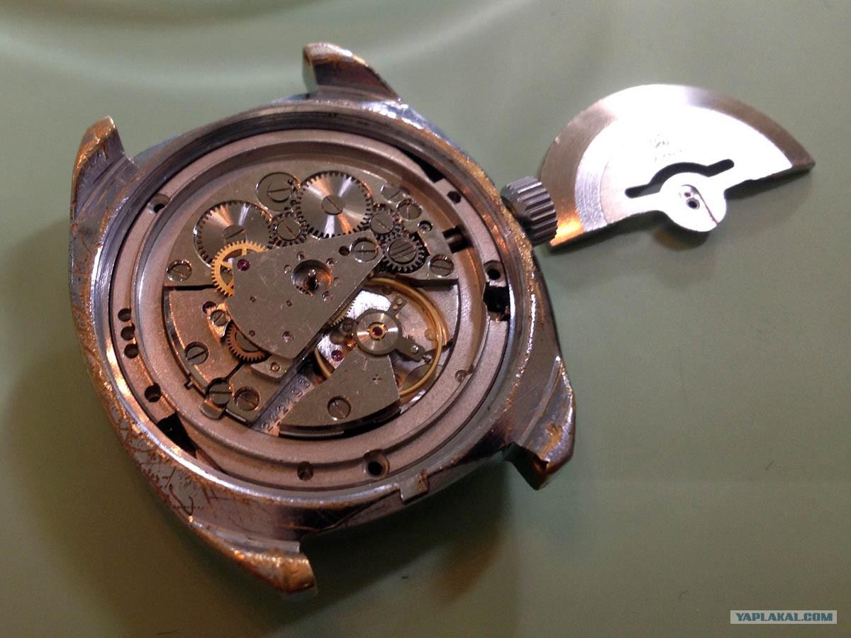 Автоподзавод для механических часов своими руками 36