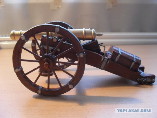 Макеты пушек времен войны 1812 года своими руками 84