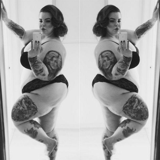 толстые бабы с татуировками