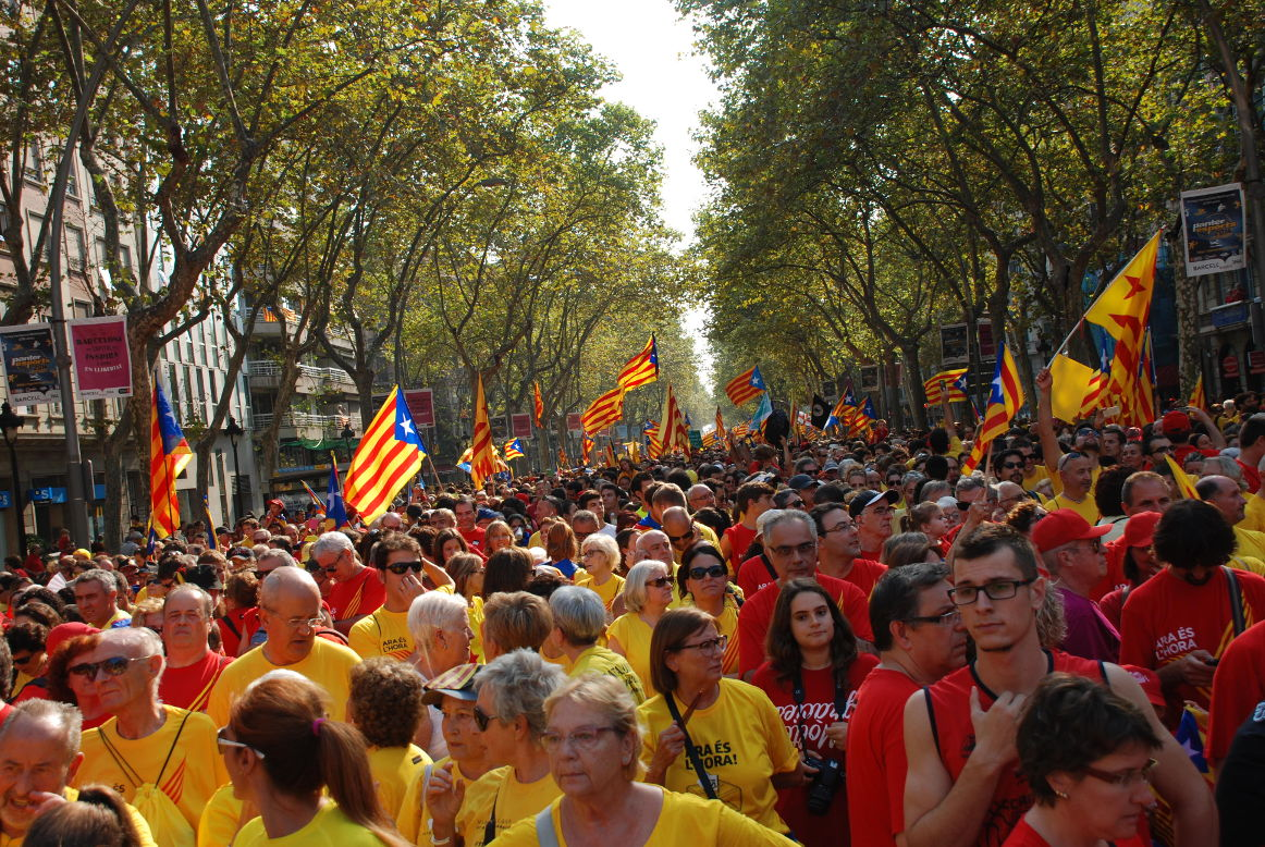 Праздники в сентябре в каталонии