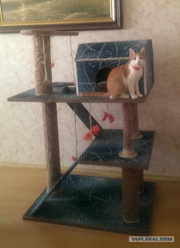 Продается собранный игровой комплекс для кошек