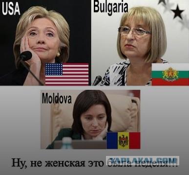 Выборы, выборы! Болгария, Молдавия