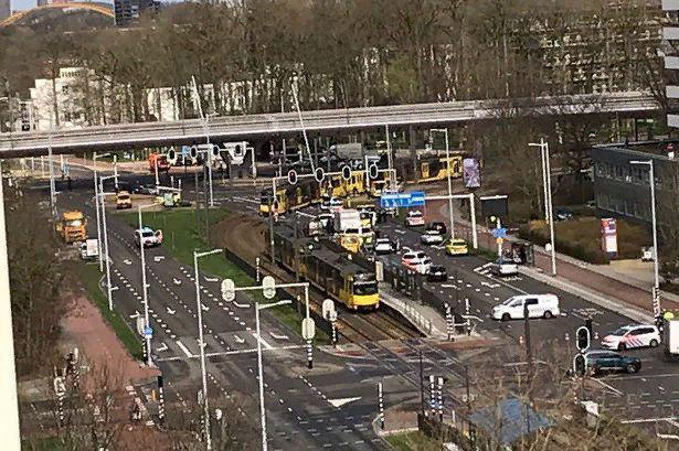 Стрельба в голландском трамвае