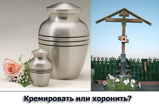 Церковь против крематориев