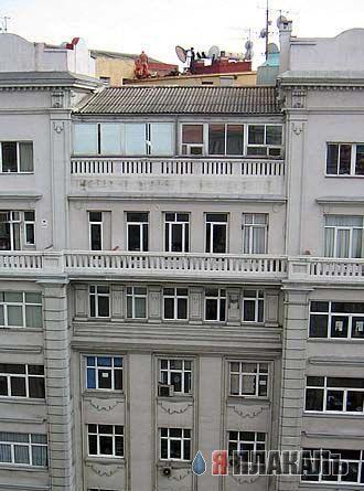 Порно на крыше дома