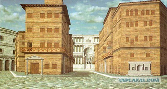 roman architecture living in an insula