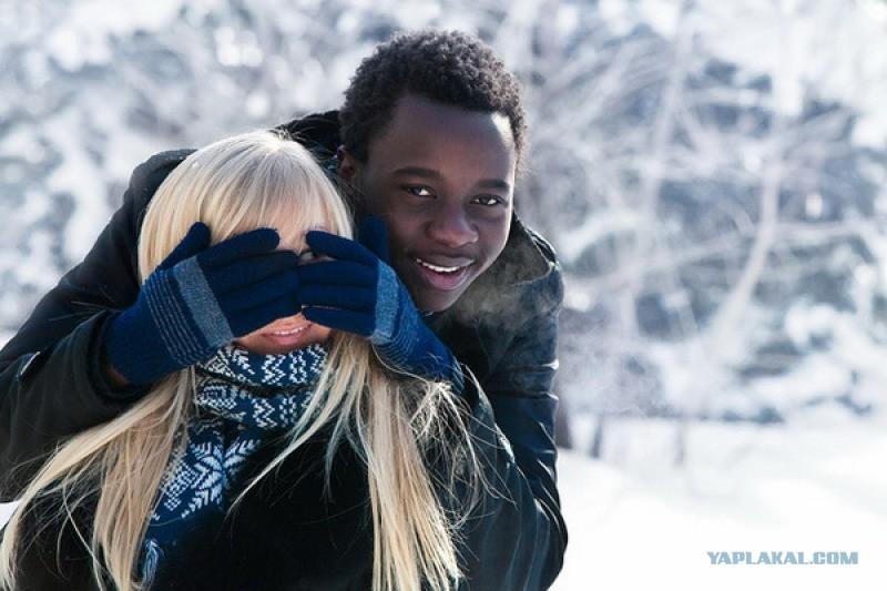 Красивая любовь негра с белой онлайн